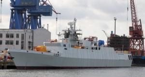 056轻型护卫舰,保持海洋军事存在常态化