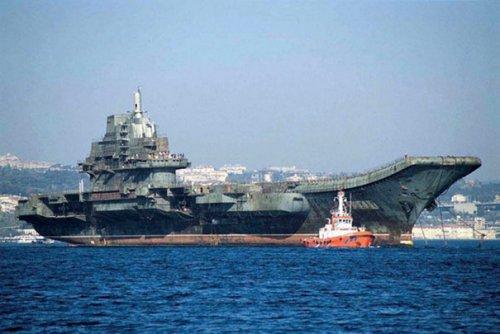 中国瓦良格与印度维克拉玛蒂亚号航空母舰的来源及对比