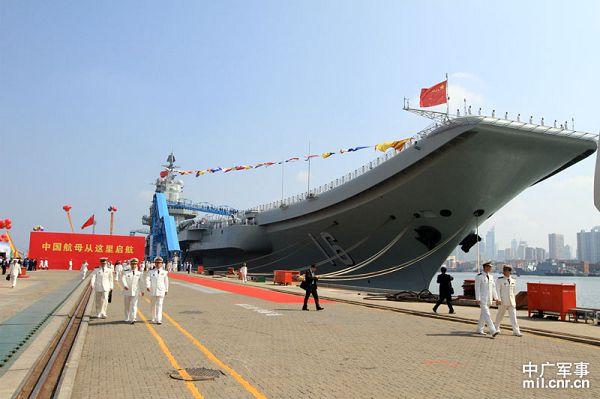 从瓦良格到辽宁号,中国首艘航母从建造到服役全过程图集