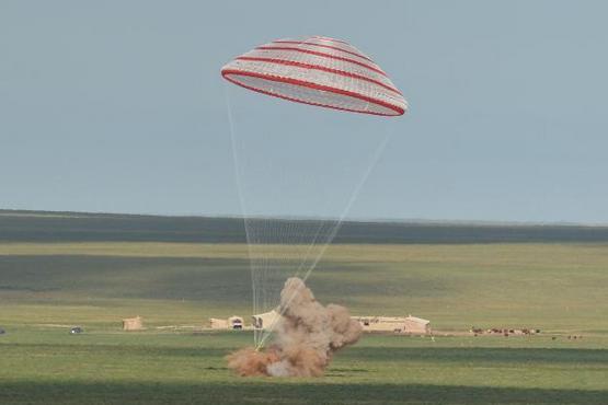 神舟十号飞船安全返回地面-全程完整视频