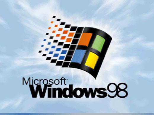 Windows 98启动画面
