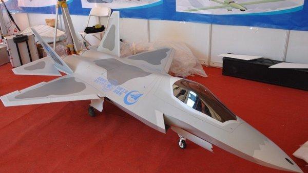 展览中的F60模型