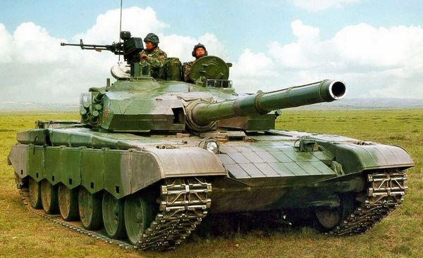 一期改进型99坦克