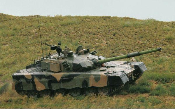 中国外贸坦克VT1-对应哈立德MBT-2000