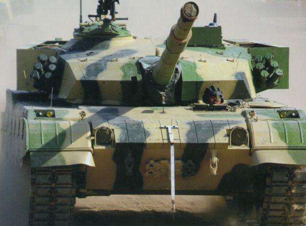 中国外贸坦克VT2-对应96A